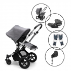 Bugaboo Cameleon3 Plus Complete Travel System with Cybex Cloud Z & Base