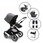 Bugaboo Fox2 Core Complete Travel System with Bugaboo Turtle Air & Base