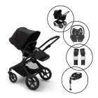Bugaboo Fox2 Core Complete Travel System with Maxi Cosi Cabriofix & Base