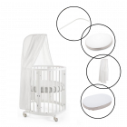 Stokke Sleepi Mini Crib & Textile Bundle