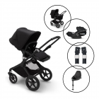 Bugaboo Fox2 Core Complete Travel System with Cybex Cloud Z & Base