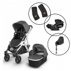 Uppababy Vista V2 Travel System with Cybex Cloud Z & Base