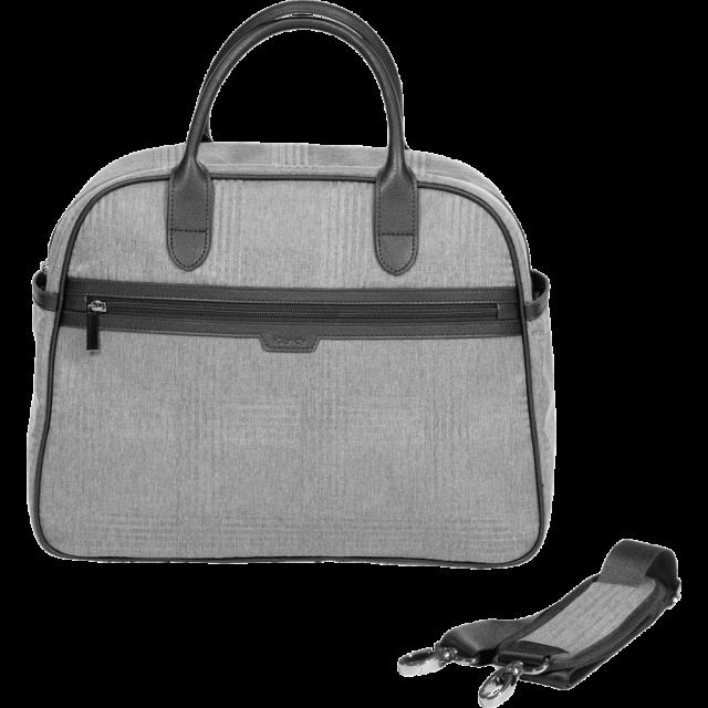 iCandy Peach Changing Bag Light Grey Check
