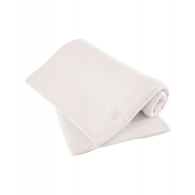 Mamas & Papas Pack of Two Fitted Sheets White - Travel Cot