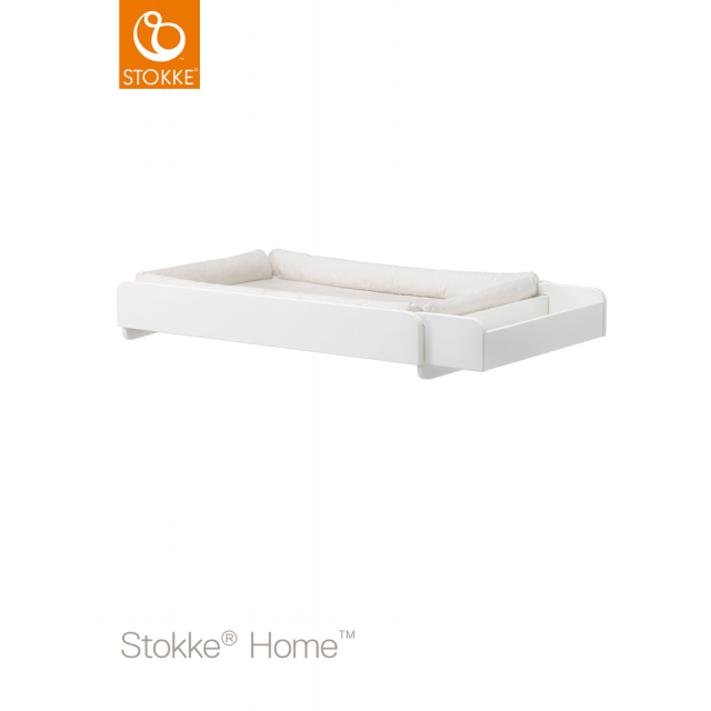 Stokke® Home™ Changer with mattress white