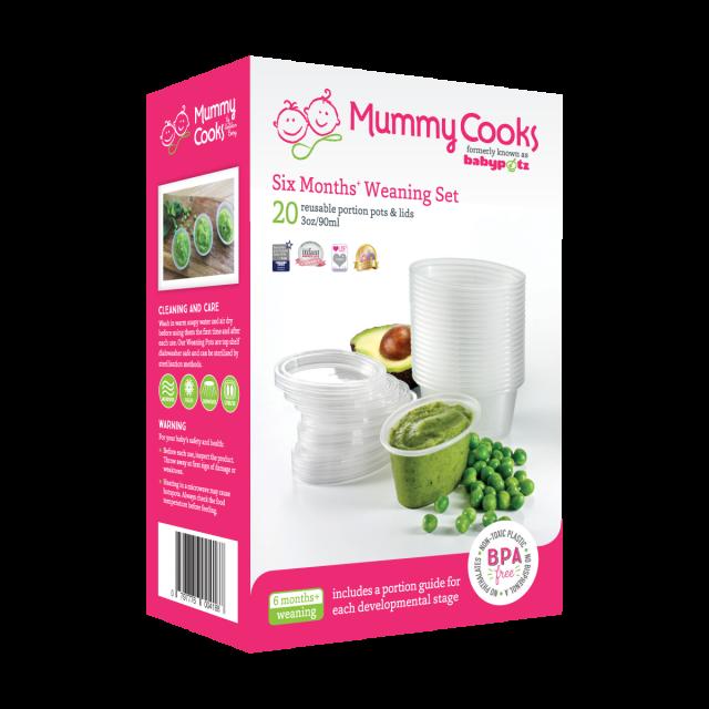 Mummy Cooks 6m+ Weaning Set
