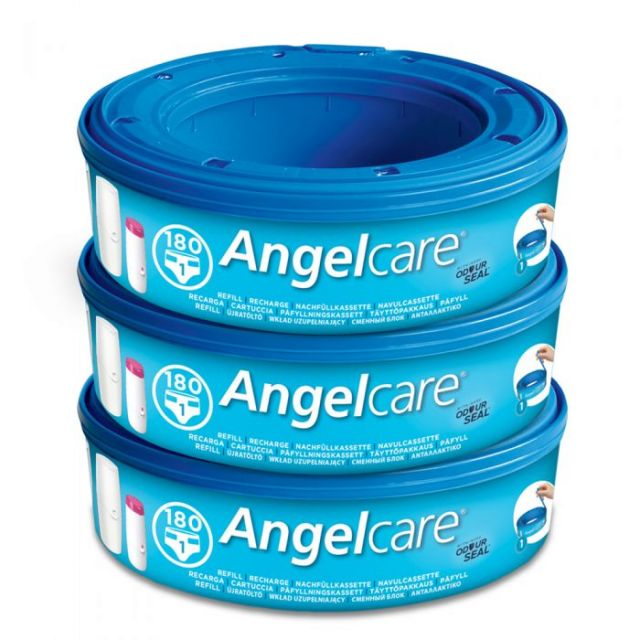 Angelcare Nappy Disposal Refill Cassettes - 3pk