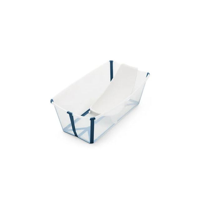 Stokke Flexi Bath Bundle - Transperant blue