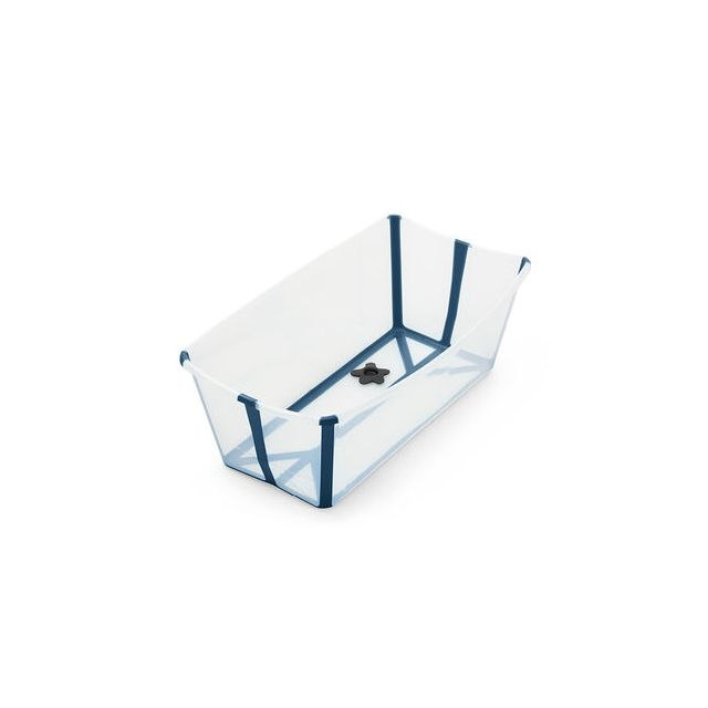 Stokke Flexi Bath - Transparent Blue