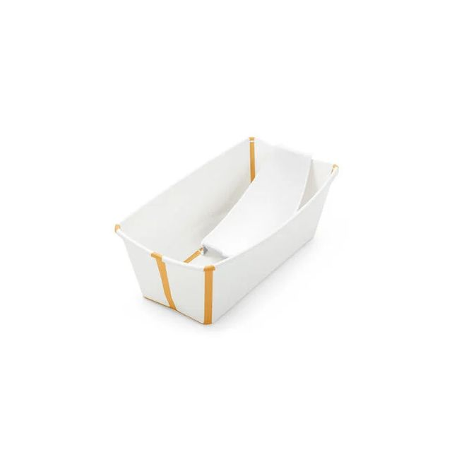 Stokke Flexi Bath Bundle - White Yellow