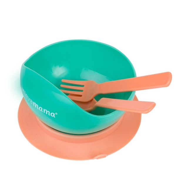 Clevamama Feeding Bowl & Cutlery