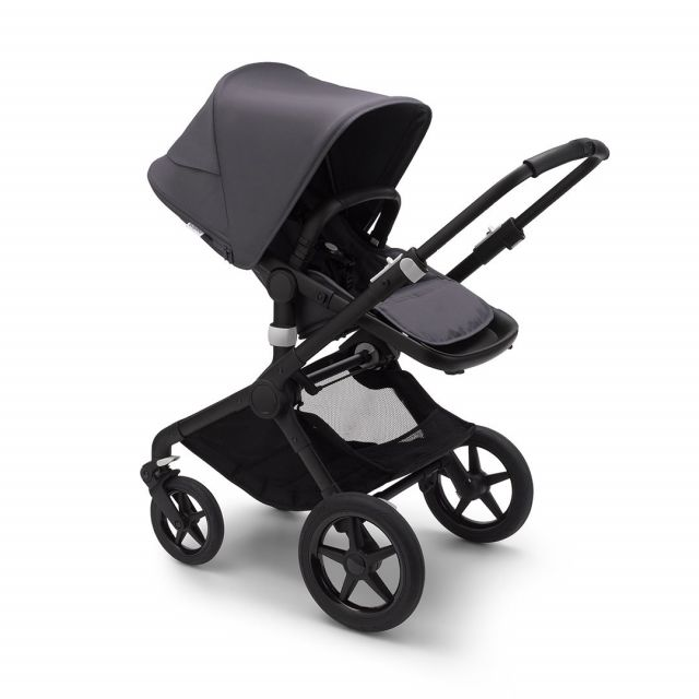 Bugaboo Fox2 Complete - Black/Steel Blue