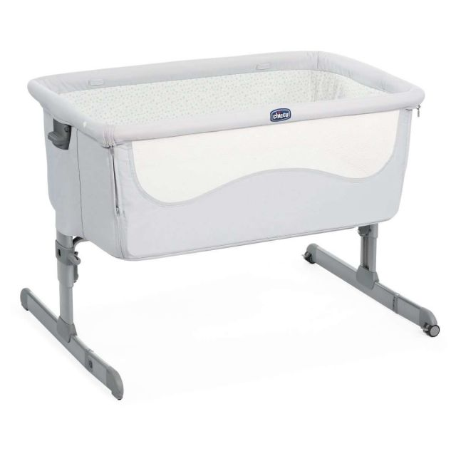 Chicco Next2Me Crib - Light Grey