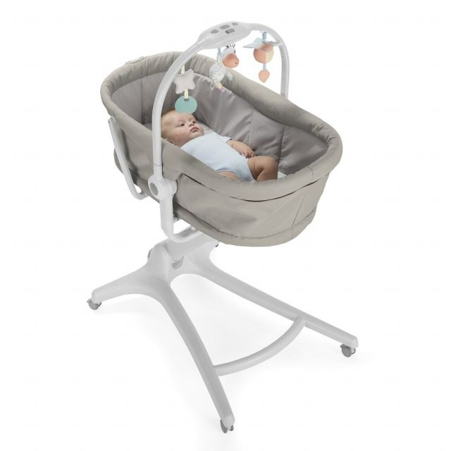 Chicco Next2Me Crib Dove Grey