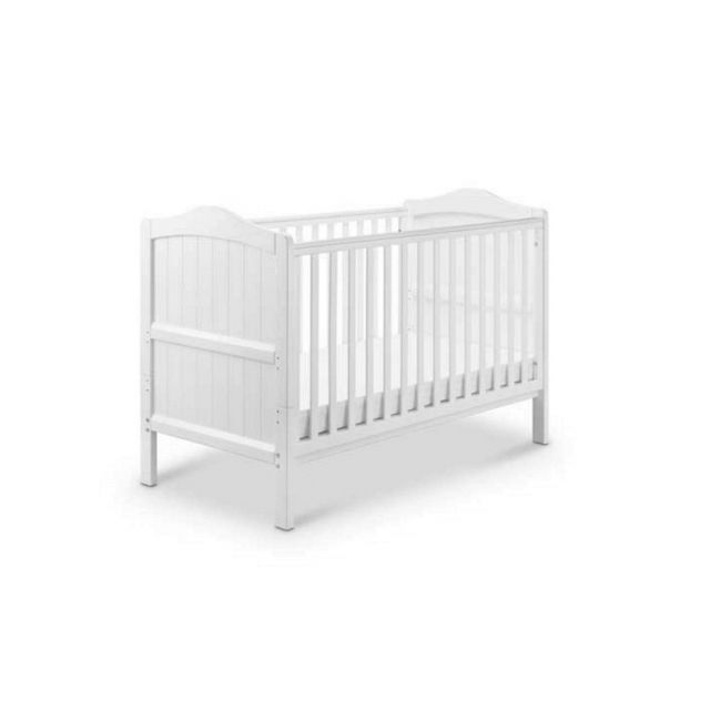 Babylo Ella Cot to Toddler Bed - White