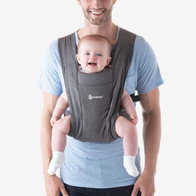 Ergobaby Embrace Newborn Carrier - Heather Grey