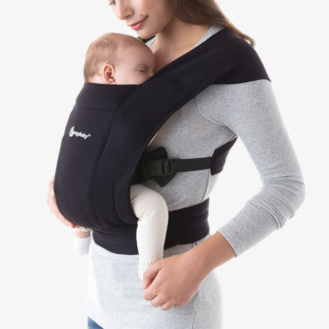 Ergobaby Embrace Newborn Carrier - Pure Black