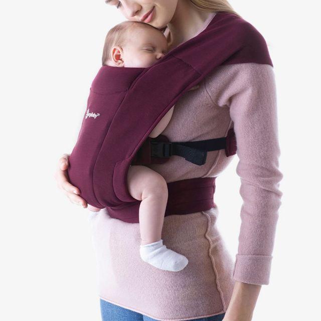 Ergobaby Embrace Newborn Carrier - Burgundy
