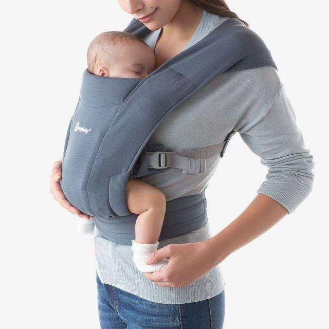 Ergobaby Embrace Newborn Carrier - Oxford Blue