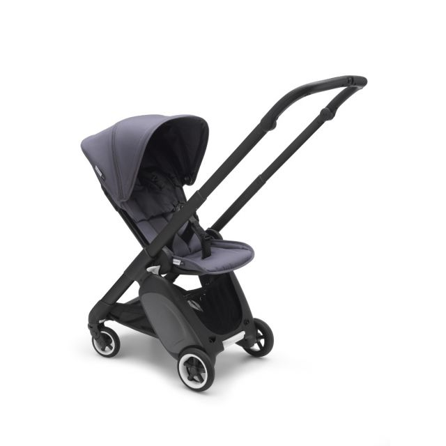 Bugaboo Ant Stroller - Black + Steel Blue
