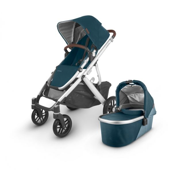 Uppababy Vista V2 Pushchair & Carrycot - Finn