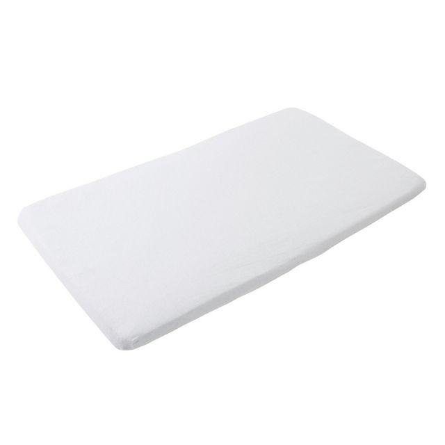 Maxi Cosi Iris 2pk Travel Cot Sheets - White/Grey