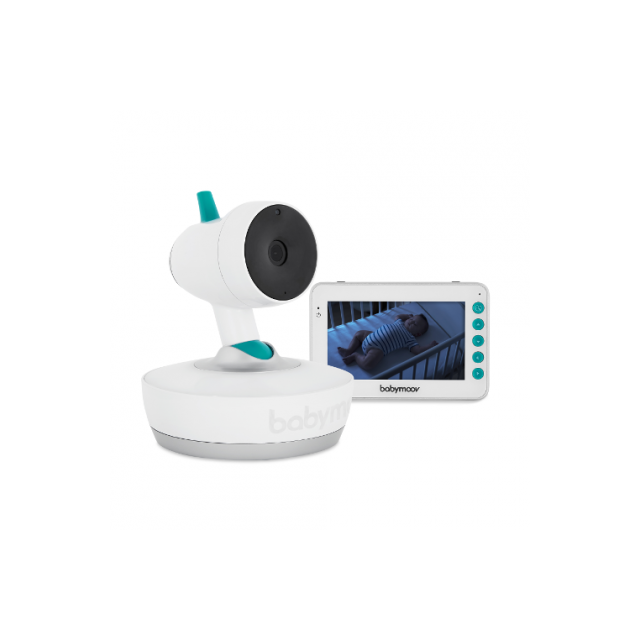 Babymoov YOO Moov 360-degree Motorised Video Baby Monitor