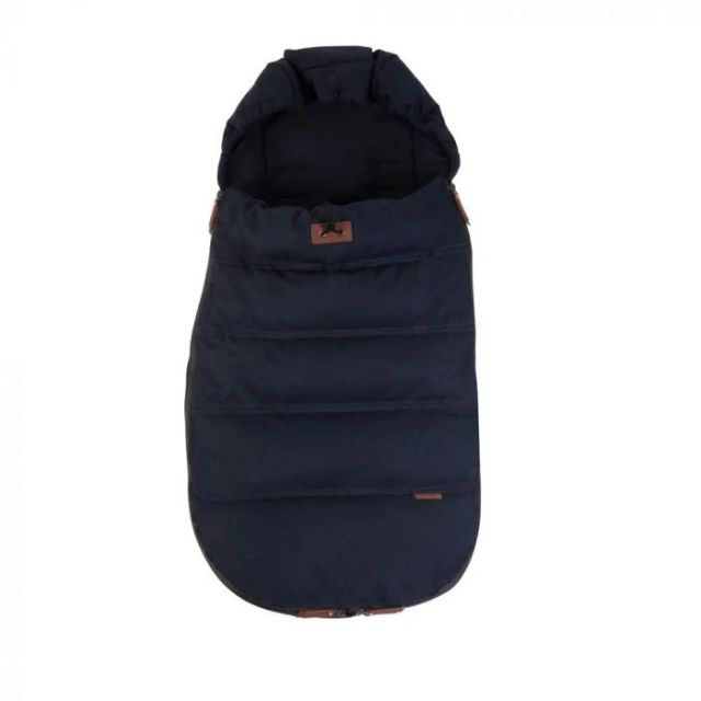 Silver Cross Wave Luxury Footmuff - Indigo