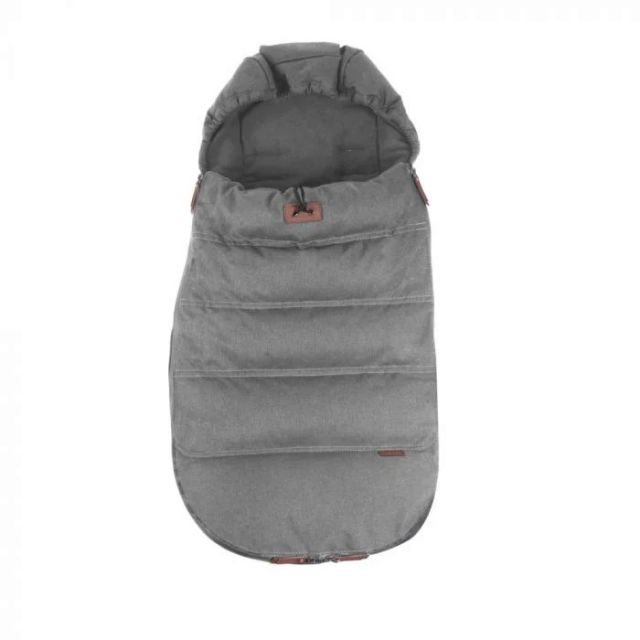 Silver Cross Wave Luxury Footmuff - Zinc