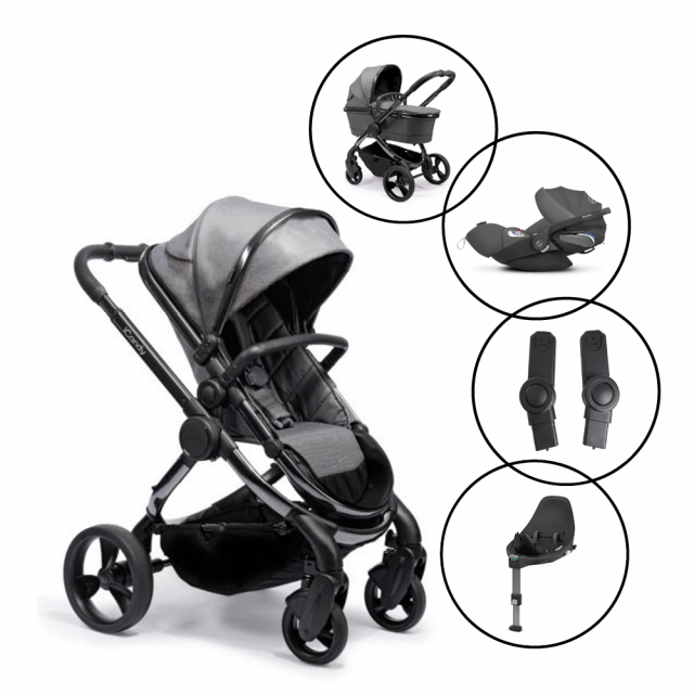 iCandy Peach Travel System with Cybex Cloud Z Car Seat & Base