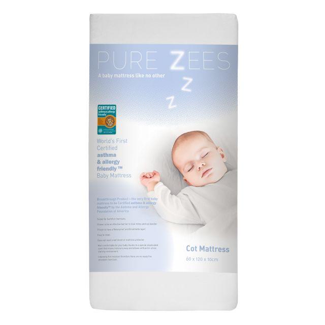 PureZees Cot Mattress 60x120
