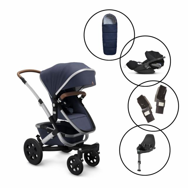 Joolz Geo2 Travel System with Cybex Cloud Z Car Seat & Base & Free Footmuff