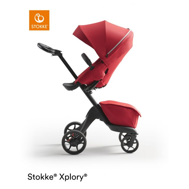 Xplory X Stroller Ruby Red