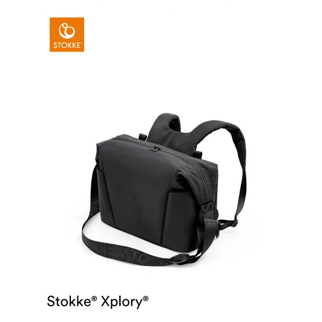 Stokke Xplory X Changing Bag - Rich Black