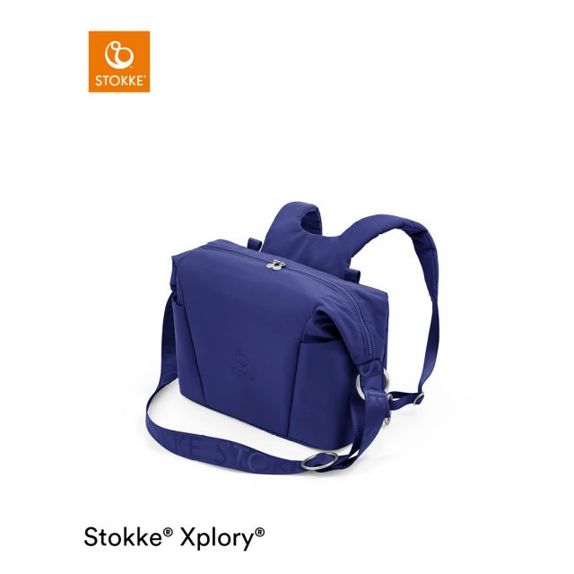 Stokke Xplory X Changing Bag - Royal Blue