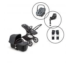 Bugaboo Fox3 Complete Travel System with Maxi-Cosi Pebble 360 & Base