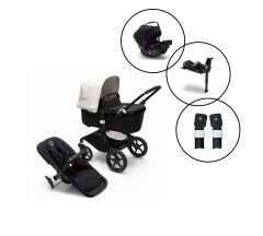 Bugaboo Fox3 Style It Yourself Travel System with Bugaboo Turtle Air Car Seat & Base