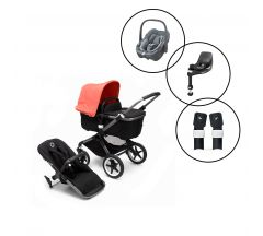 Bugaboo Fox3 Style It Yourself Travel System with Maxi - Cosi Pebble 360 Car Seat & Base