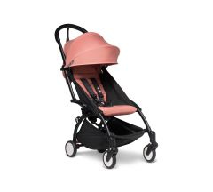 BABYZEN YOYO2 6mth+ Stroller - Black with Ginger