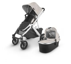Uppababy Vista V2 Pushchair & Carrycot - Sierra