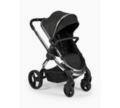 iCandy Peach Pushchair & Carrycot - Chrome Black Twill