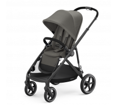 Cybex Gazelle Pushchair Soho Grey on Black Frame