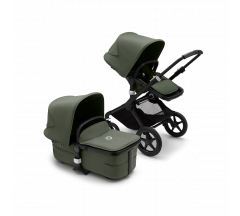 Bugaboo Fox3 complete Black / Forest Green