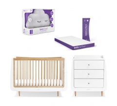 SnuzKot, Dresser, Mattress and SnuzCloud Bundle