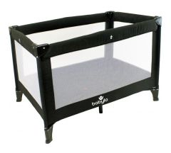 Babylo Alpha Travel Cot - Black