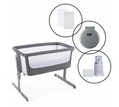Chicco Next2Me Beside Crib Bundle - Air