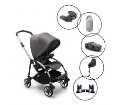 Bugaboo Bee6 Travel System with Cybex Cloud Z & Base With Free Newborn Inlay