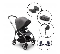 Bugaboo Bee6 Travel System with Cybex Cloud Z & Base