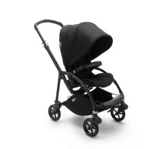Bugaboo Bee6 Complete Pushchair - Black/Black