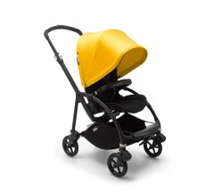 Bugaboo Bee6 Complete Pushchair - Black/Lemon Yellow